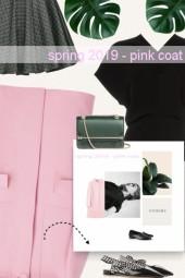 spring 2019 - pink coat