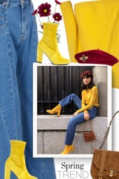 FRESH SPRING OUTFIT COLOR COMBINATIONS TO TRY