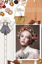 Brooch & Roses