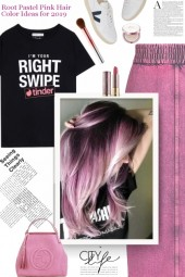 Root Pastel Pink Hair Color Ideas for 2019