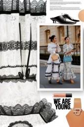 Paris Fashion Week - Black and White