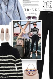 Inspiring  Women Style With Casual Chic Outf