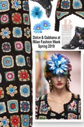 Dolce & Gabbana at Milan Fashion Week Spring 2019