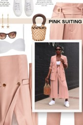 PINK SUITING