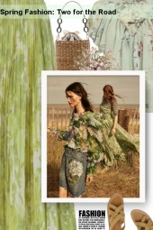 Spring Fashion: Two for the Road