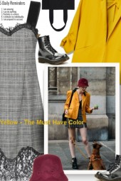 Yellow - The Must Have Color