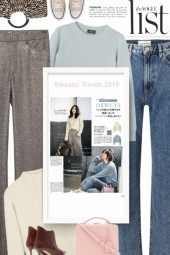Sweater Trends 2019