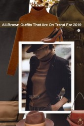 All-Brown Outfits That Are On Trend For 2019