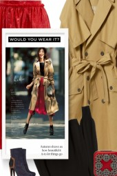 Trench Coat Material Trend