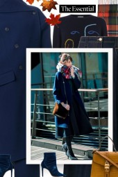 Navy Is The New Hot Colour Trend 2019