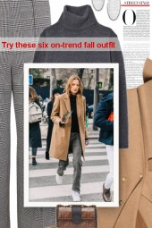 Try these six on-trend fall outfit
