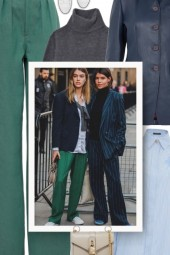 See more ideas about Green pants