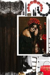 Halloween - black & red