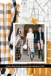 all the check and tartan prints we'll wear in 201