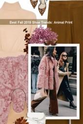 Best Fall 2019 Shoe Trends: Animal Print