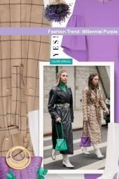 Fashion Trend: Millennial Purple