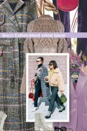 Gucci Cotton-blend velvet blazer