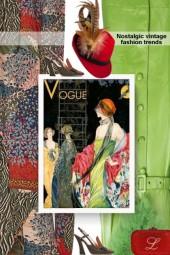 Nostalgic vintage fashion trends
