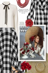 vintage style - gingham