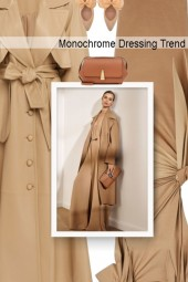 Monochrome Dressing Trend