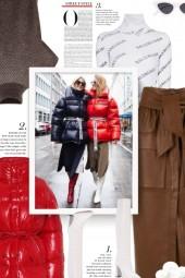 Acne Studios Drawstring Puffer Jacket