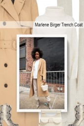 Marlene Birger Trench Coat