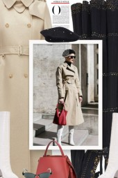 PARIS TEXAS knee high boots - vintage style