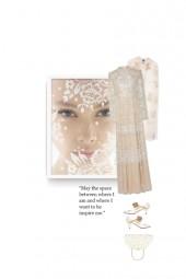 Lace dress - romantic style