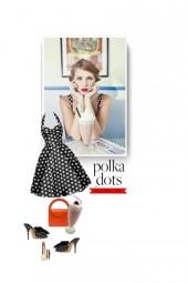 valentines day  - polka dots