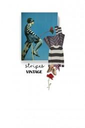 vintage - stripes