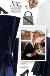 ELLEME Madeleine houndstooth tote bag