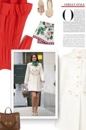 Chloe White Coat