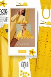 hello yellow - spring 2020