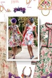 Floral Easter Dress - spring