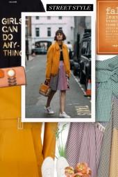 SILVIA TCHERASSI multicolor skirt