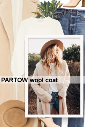 PARTOW wool coat