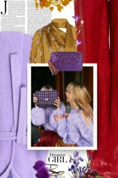Hand bag Purple