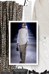 full leopard print skirt