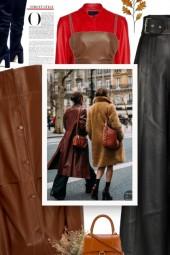 Leather Shirt - AMARO