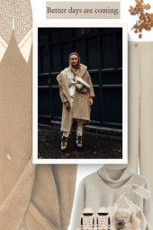 Teddy Bear Winter Coat