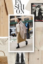 Shades of Beige - street style