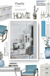 white and light blue