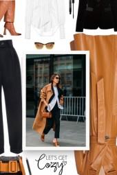 cozy fall - velvet blazer