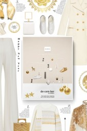 winter - white and gold