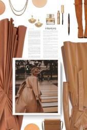 Grace large leather shoulder bag