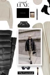 street style - puffer coat