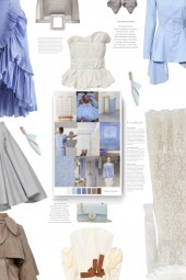 MIU MIU Floral-lace cotton dress