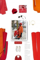 orange. red