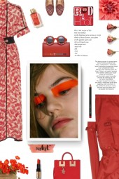 Smarteez red and white dress