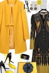 Mustard Colored Coat